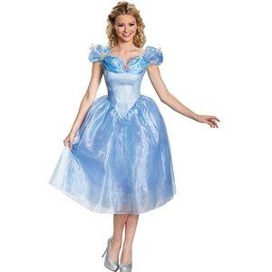 NEW Disguise Disney Cinderella Movie Adult Costume